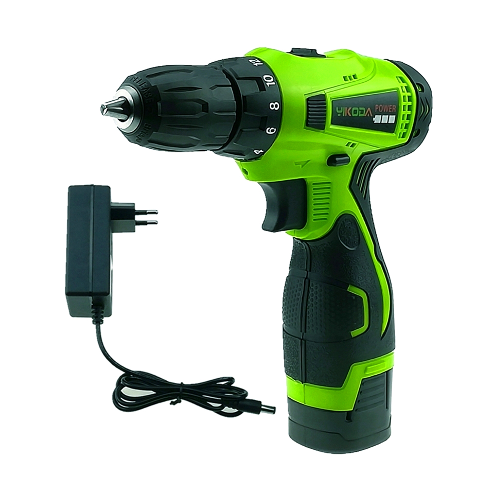 16.8V Household Hand Cordless Drill Double Speed Electric Screwdriver Rechargeable Power Tools One Lithium Battery Carton