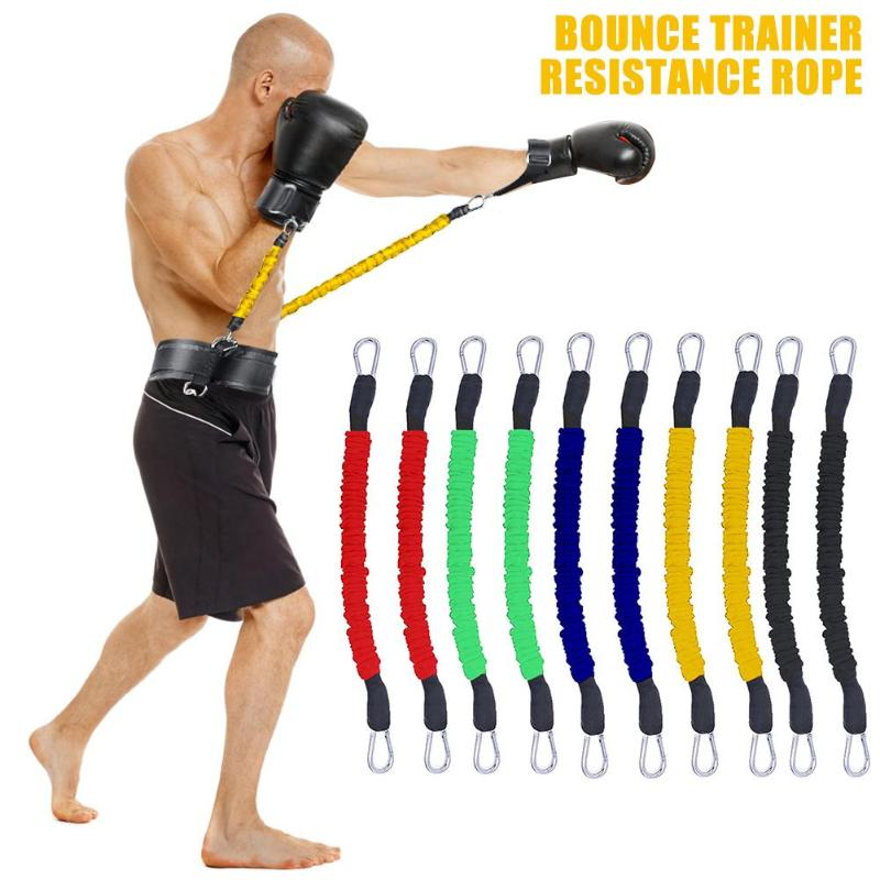 Bounce Trainer Resistance Rope Gym Sports Fitness Boxing Stretching Stap Home Gym Resistance Bands For Leg Arm Exercises