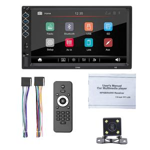 Stereo-Receiver Player Radio Support MP5 N8 2-Din Mirror-Link Rear-Camera Car-Stereo