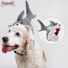 3D Halloween Dog Pet Cat Shark Party Costume Outfits For Small Medium Winter Warm Fleece Hat Chihuahua Funny Cap New