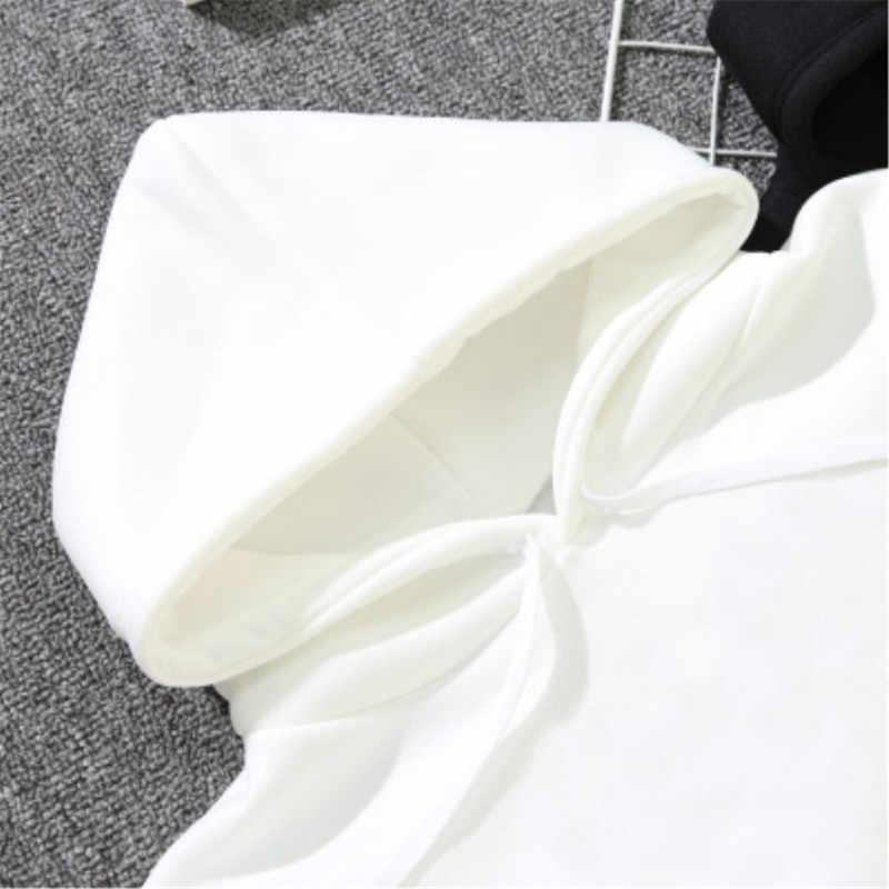 נשים מכתב לב רקמת חולצות הסווטשרט סתיו ארוך שרוול סווטשירט ברדס סוודר חולצות סוודרי sudadera mujer