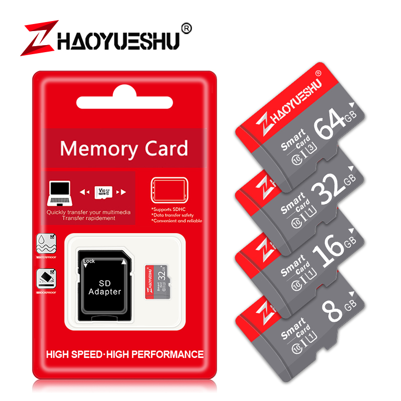 Class 10 Micro Sd Card High Speed Memory Card 128GB 64GB 32GB USB Mini Flash Disk Stick Drive For Driving Recorder Free Shipping