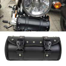 Для Harley мотоциклетная сумка Замена кожа черный 21x10x10 см багаж