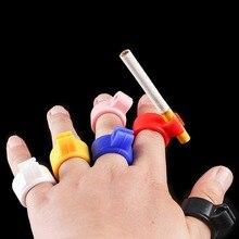 Cigarette-Holder Smoker Ring-Finger Men Gift Silicone Waterproof for Regular 1-Pc Hand-Rack