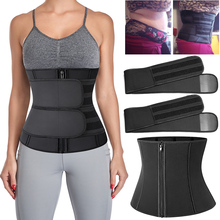 Trimmer-Belt Shapewear Detachable Waist-Trainer Sweat Corse Tummy Belly-Reducing-Shapers