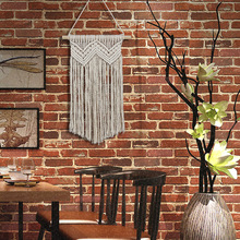 Hand Knotted Bohemian Macrame Woven Handmade Tapestry Knitting Wall Hanging Tapisserie Home Decoration Craft Wedding Decor Gifts