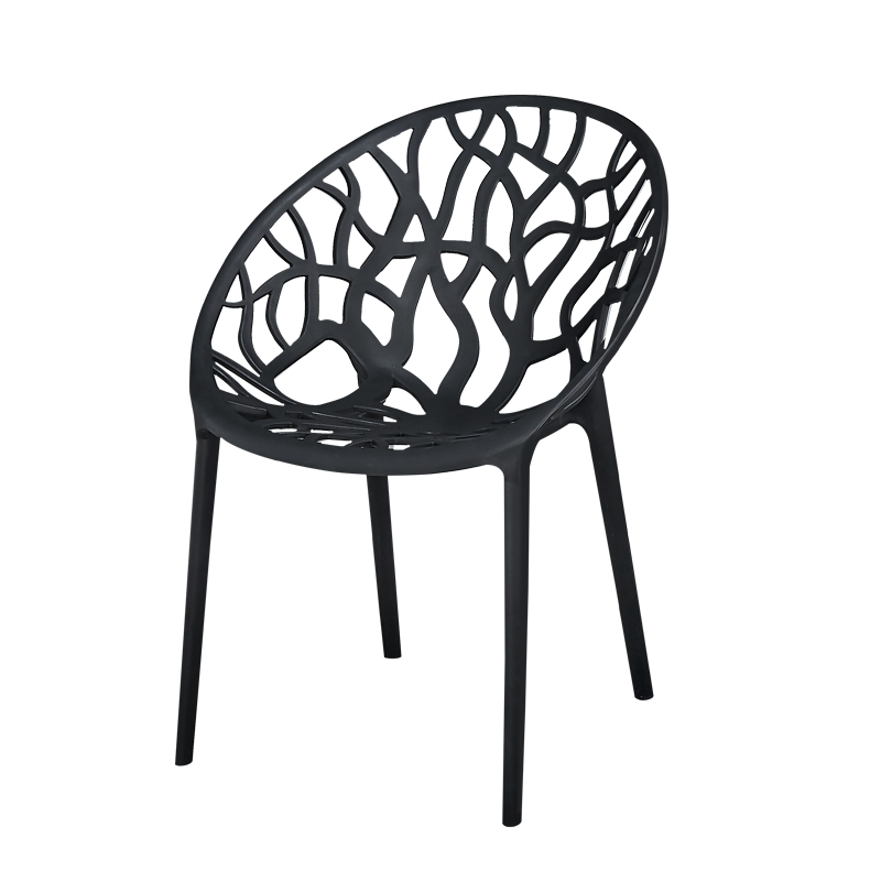 Modern Fashion Hollow Chair Restaurant Dining Chair Restaurant Office Meeting Computer Chair Nordic Home Bedroom Plastic Chair