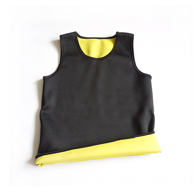 Mens Body Shaper Vest Modeling Fat Burning TShirt Black Slimming Belt Belly Sweat Weight Loss Waist Trainer 3