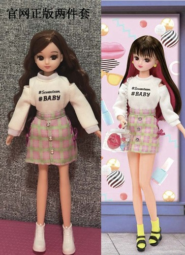 1/6 clothes For Dolls For Licca doll Momoko Doll Blyth doll clothes Jumpsuit dress suit For Girls Dolls 7