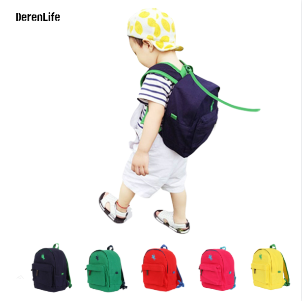 2019 School Bags For Boys Girls In Kindergarten Poloo Canvas Kids & Baby's Bags Small Children Backpack For Girls Primary School