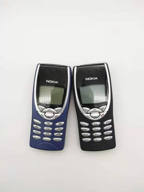 8210 Original Nokia 8210 Unlocked Mobile Phone 2G Dualband GSM 900/1800 GPRS Classic Cheap Cell phone refurbished 2