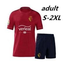Osasuna-men's football T-shirt, best quality training casual clothing, 2020, 2021