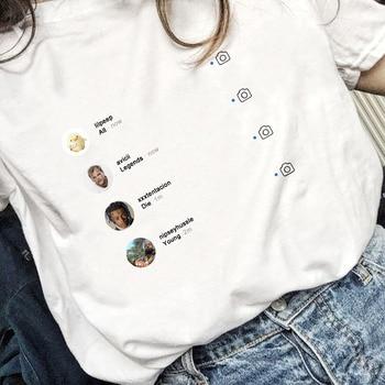 Todas las leyendas morir joven Graphi personalidad interesante estético mujeres camiseta verano Casual Xxxtentacion ropa Mujer Tops camisetas