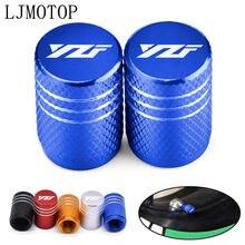 Bouchons de tige de Valve de pneu de roue, accessoires de moto, couvercles hermétiques CNC pour Yamaha XJR FJR 1300 FZ1 FAZER YZF R 3 25 6 600R FZR 600