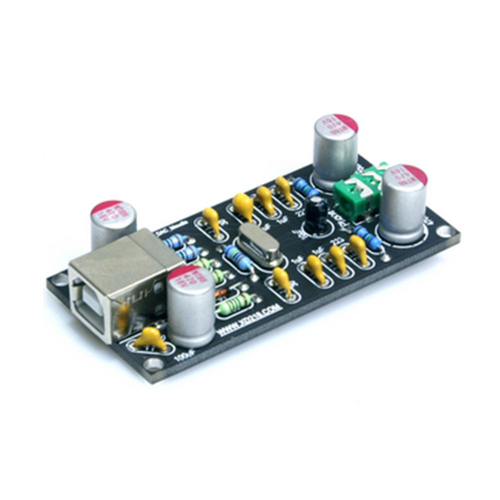 PCM2704 100dB HI FI Level USB DAC Sound Card in Amplifier from Consumer Electronics
