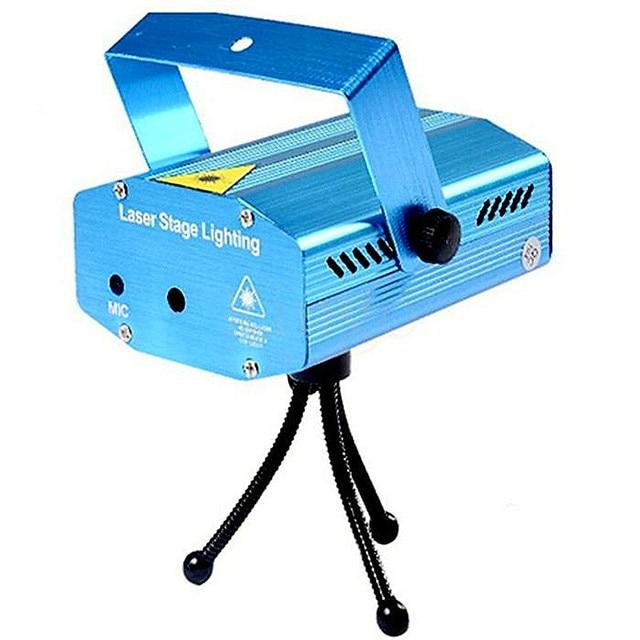 LED Disco Lights Mini Lazer Pointer Stage Lightings DJ Disco Laser Stage Lighting for Christmas Home Party Show Club Bar Wedding