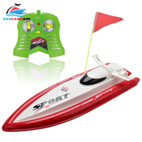 New Red/Blue Ship Radio Remote Control Boat Double Motor Mini RC Speedboat Toys Children Outdoor Racing Boats with Original Box