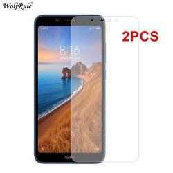 2 sztuk ochraniacz ekranu dla Xiaomi Redmi 7A szkło 9A 9C NFC 9 6 8 8A szkło hartowane telefon ochronny dla Xiaomi Redmi 6 6A 7A