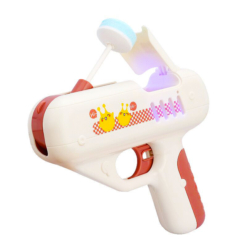 Candy Gun Sugar Lollipop Gun Sweet Toys for Girlfriends Light Toy lollipop storage Toy for Children Adult I Love You