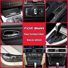 For BMW Old 3 series E90 E92 E93 Accessories Interior Real Carbon Fiber Ashtray Cigarette