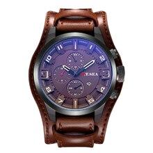 Luxury Leather Watches Men Military Sport Quartz Wrist Watch 2019 Male Best Selling Clock xfcs Relogio Masculino erkek kol saati все цены