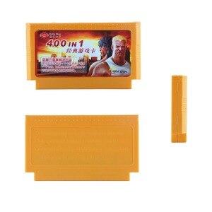Image 4 - 500 w 1 kartridż z grą gry wideo karty pamięci 180 400 w 1 8 Bit 60 pinów konsola do gry Nintend classic FC karty do gry 8w1