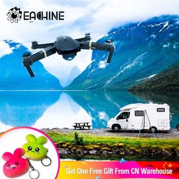 Eachine E58 WIFI FPV con verdadero 720P/1080P gran angular cámara HD modo de alta retención brazo plegable RC Drone Quadcopter RTF VS S9HW M69