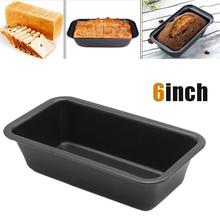 6 inch Oven Tray Kitchen Fruit Baking Gadgets Cake Maker Mold Loaf Pan Bread Mould Carbon Steel Baking Gadgets Non Stick Bread bread machine the bread maker uses fully automatic and multifunctional intelligence sprinkled with fruit cake