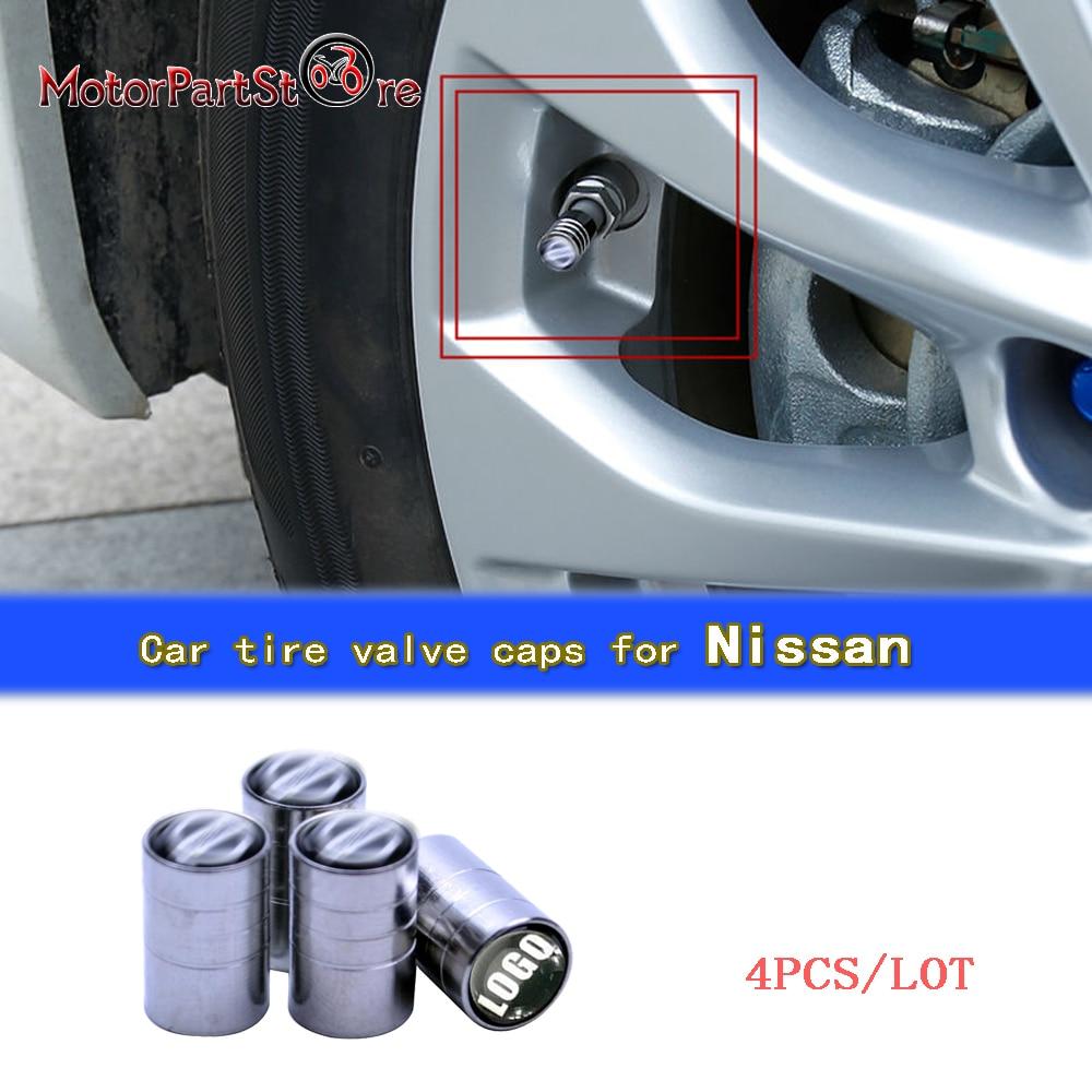 4pcs/lot Auto Car Tire Wheel Rims Stem Air Valve Caps Tyre Cover Car Tire Valve Air Caps For Nissan D20