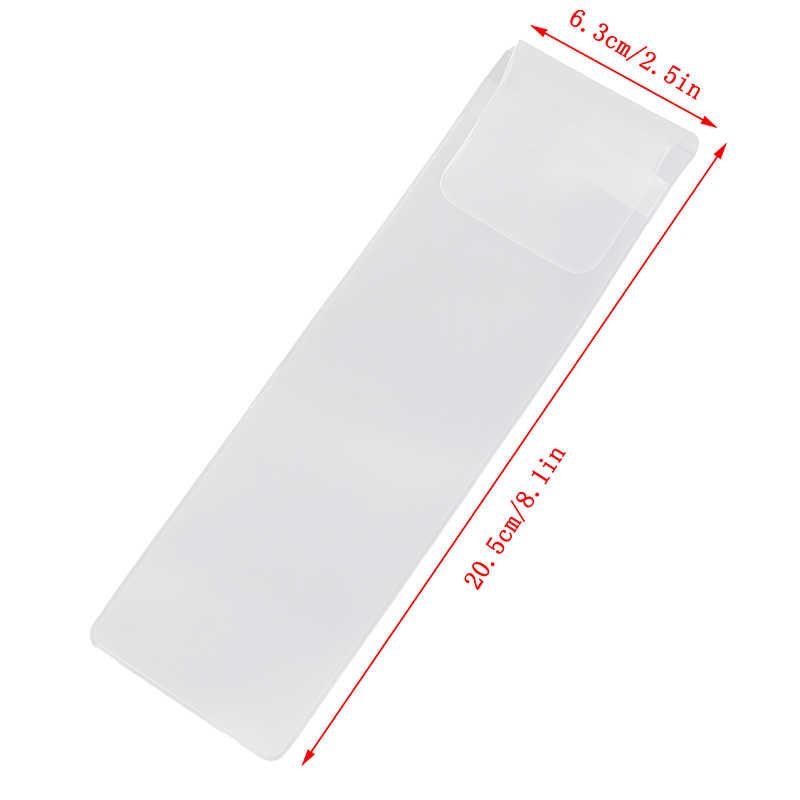 5 個化粧品美容ブラシプロテクターペンガードメイクアップブラシシース透明 Pvc プロテクターカバーメイクアップツール