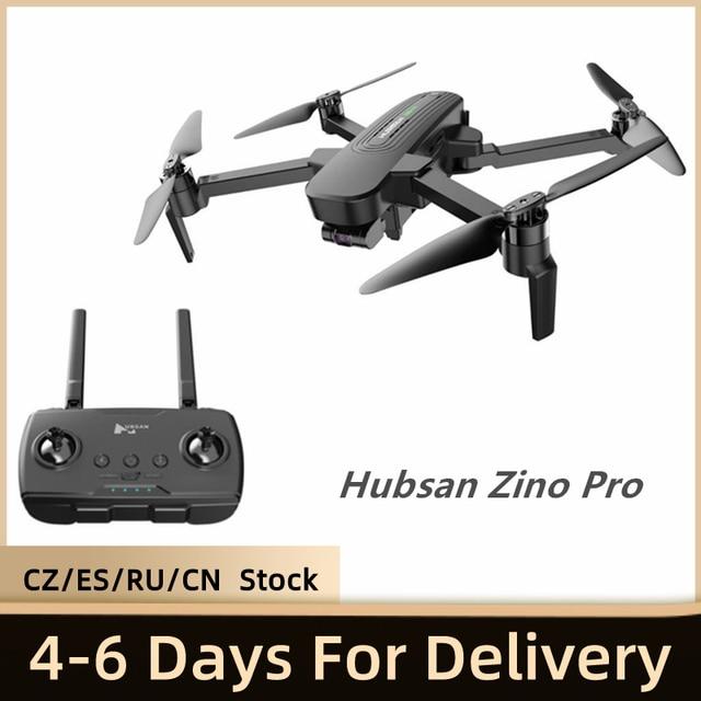 Hubsan Dron Zino Pro con GPS, cámara 4K, UHD, 5G, WiFi, 4km, FPV, 3 ejes, cardán sin escobillas, RC