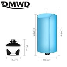DMWD электрическая сушилка для белья, воздушный тепловентилятор для белья, теплее, складной Дегидратор для одежды, сушилка для детской одежды с вилкой ЕС и США