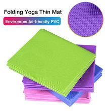 TPE Non-slip Yoga Mats For Fitness Tasteless Brand Pilates Mat 4Color Gym Exercise Sport Pads with Bag Strap