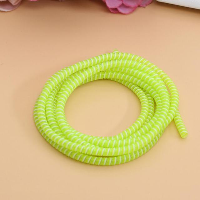 1.4M Cable Winder wire Case Data Line Protection Cable protector USB Charging Wire Cord Protection For earphone Charger Cable