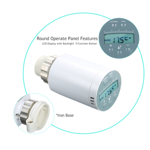 Image 2 - SEA801 APP Thermostat Temperature Controller TRV Thermostatic Radiator Valve Voice  Remote Control Thermostat Heater Controller
