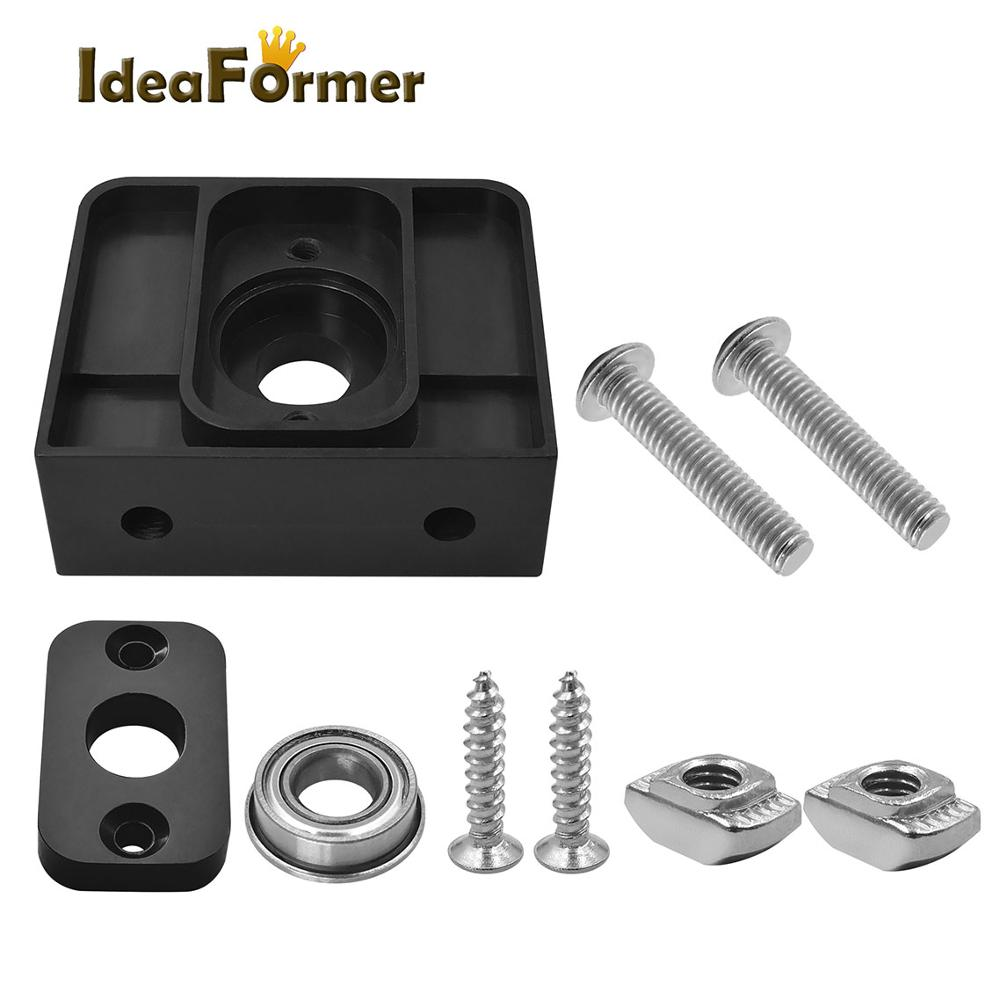 T8 Lead Screw Plastic Bracket Fixed Seat Top Mount  (with Screw Fittings) For 3D Printer Parts T8 Lead Screw Trapezoidal Screw.