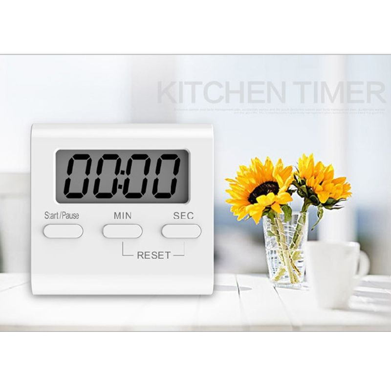 Cooking Cooking Kitchen Baking Electronic Timer Dedicated Oven Countdown Large Screen Commercial Electronic Stopwatch Children