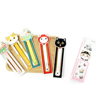 8packs/lot Warm Heart Private House Cat Bookmark Gift Stationery School Office Supplies