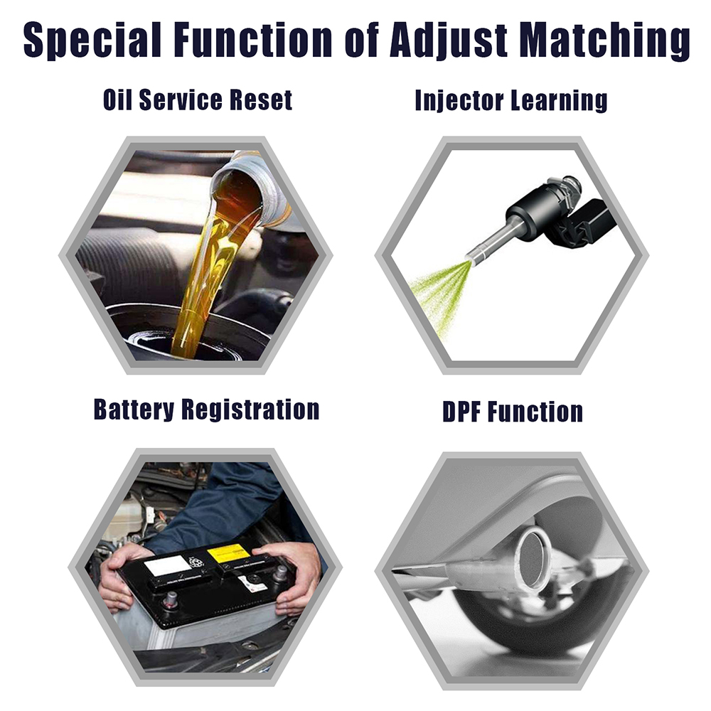 Image 3 - ANCEL VD700 Car Diagnostics OBD2 for VW Audi Skoda Seat VAG Automotive Scanner ABS SRS Oil EPB DPF TPMS Reset OBD2 Auto Scanner-in Air Bag Scan Tools & Simulators from Automobiles & Motorcycles on