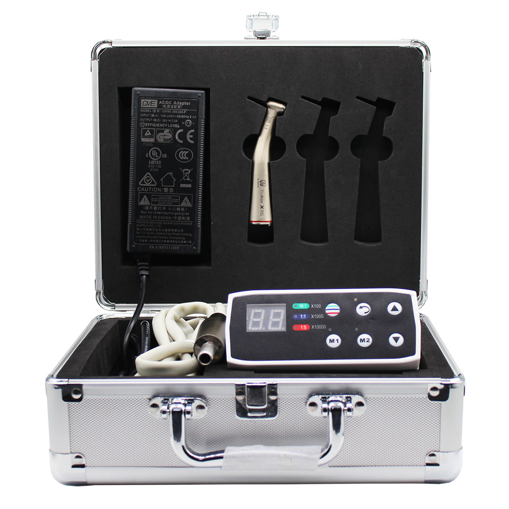 Dentistry  Micro Motor Ti-Max X95L Increase Slow Speed Hand Piece Fiber Optic Handpiece Electric Motor Kit  New Arrivals