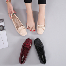 обувь женская осенняя zapatos de mujer de moda 2019 Leisure Flats women's shoes leather shoes women loafers ballet flats осенняя обувь под джинсы мужские