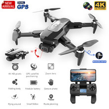 HJ38 Pro GPS Drone 4k HD Camera 5G Wifi Positioning Brushless Motor Follow-up Shooting Foldable Altitude Hold Gifts For Kids