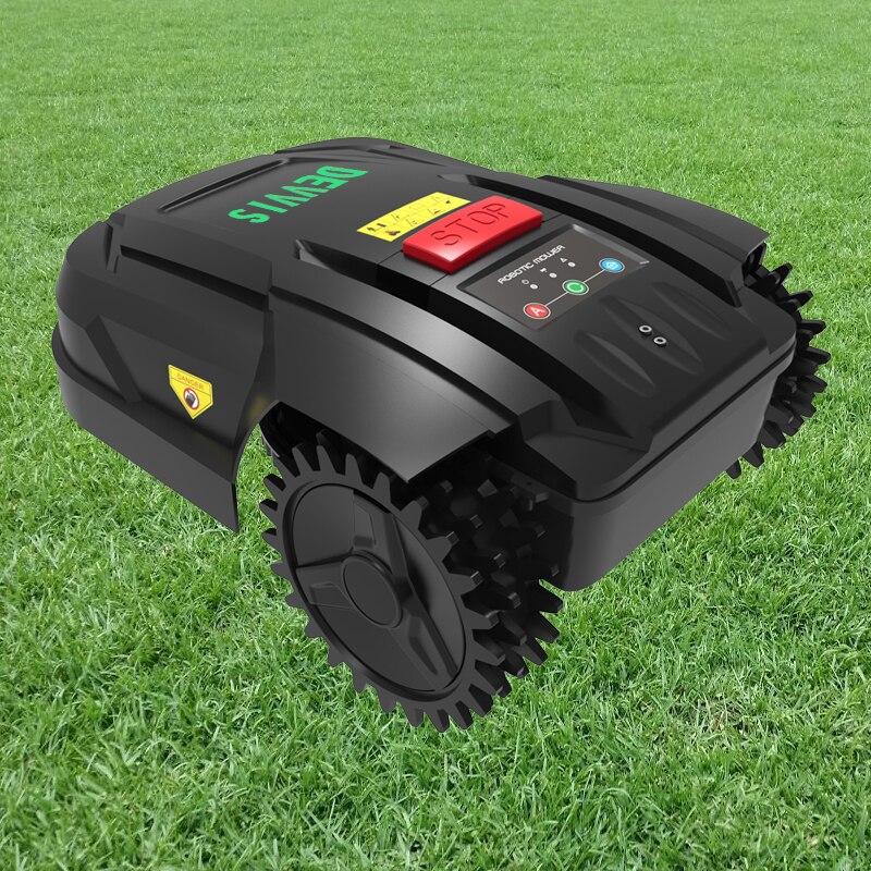 2 Garden Navigation Auto Grass Machine 2ah RechargeScheduleGyroscope With H750 Cutter DEVVIS Battery Lithium For Automatic