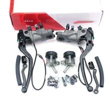 Levier de frein hydraulique en aluminium forgé, 22mm 19RCS, pince de miroir, Radial, câble d'embrayage, gros Piston