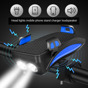 Bicycle Light Waterproof USB Rechargeable bicycle lights Front LED Bike Lights Cycling Lamp flashlight  riding equipment waterproof 800 lumen xml 2 led 4 modes usb bicycle head light cycling front lamp with temperature control for riding camping