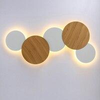 Zerouno interior conduziu a lâmpada de parede sala estar decoração luz da parede casa luminária loft luz da escada redonda/quadrado lâmpada alumínio Luminárias de parede     -