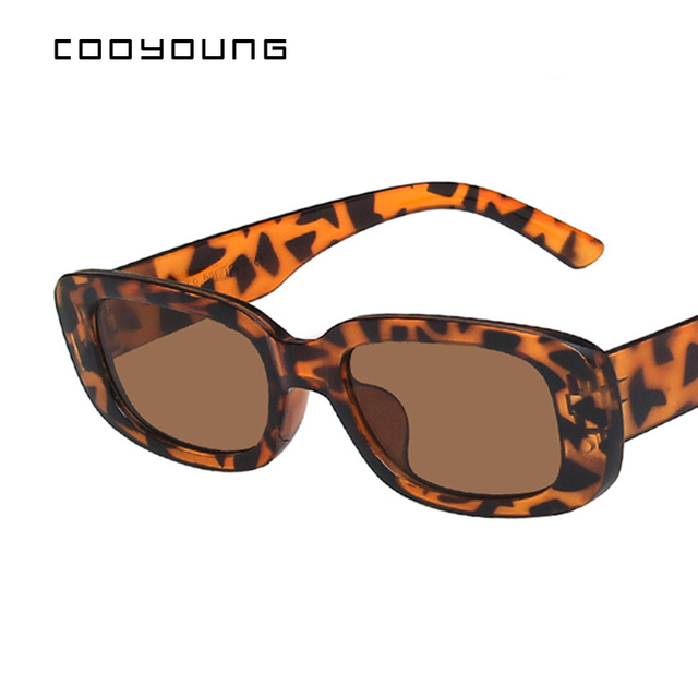 Rectangle Sunglasses- Women Vintage Shades UV400 5