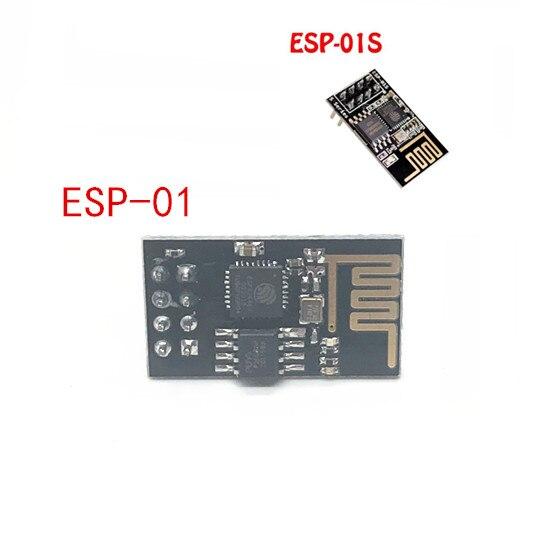 Módulo transmissor sem fio ESP-01 ESP-01S esp8266, módulo sem fio esp01 ESP8266-01 com 10 peças
