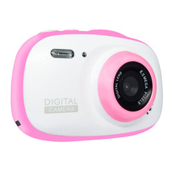 Mini Digital Camera 6X Zoom Timed Shooting Waterproof Camcorder 2 Inch HD Screen Educational Video Recorder Portable Kids Gifts