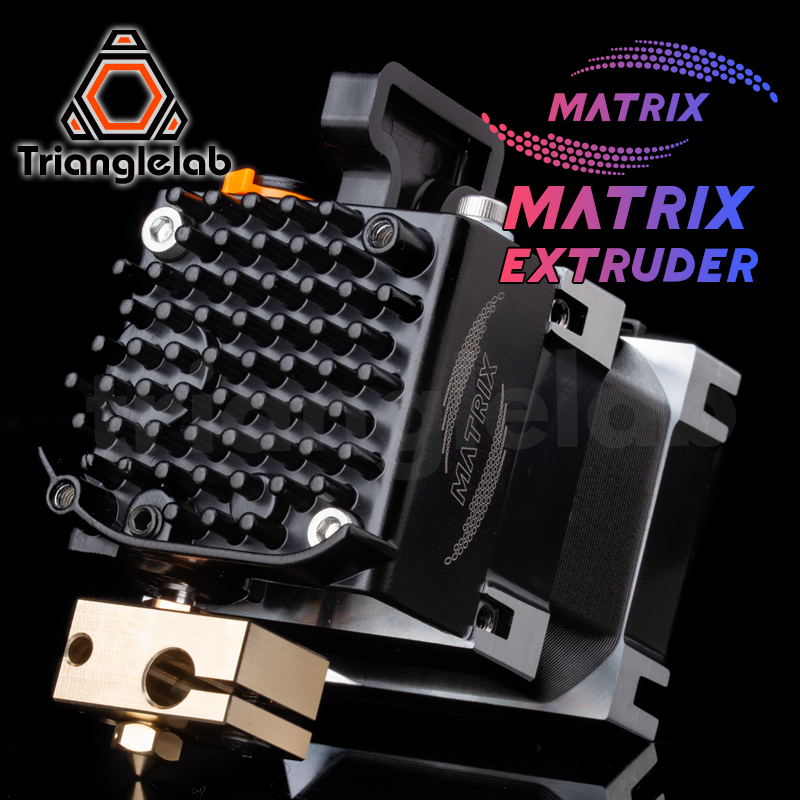 Trianglelab Matrix Extruder Hotend 3D Printer For Ender 3 Prusa CR10 ANET Artillery Sidewinder x1